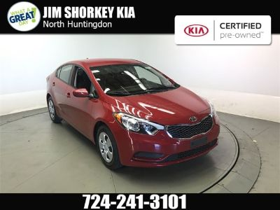 2016 Kia Forte LX (Crimson Red Metallic)