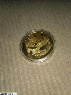 For Sale: 1 oz gold pandas