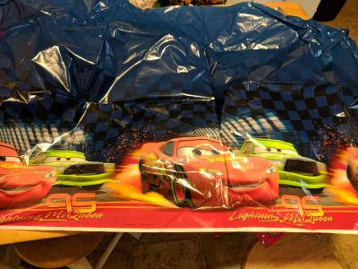 Cars party table cover