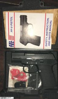 For Sale: Kel -Tec PF9