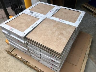 18 Inch Floor and Wall Tile - 348 Square Feet