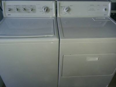 Matching Kenmore Washer Dryer