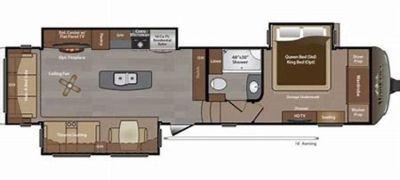 2015 Keystone Montana 3610RL