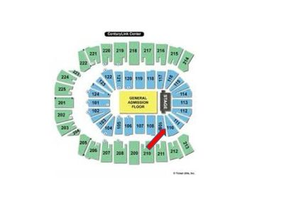 3 Elton John Tickets Lower Level
