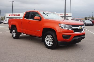 2016 Chevrolet Colorado 4WD LT (Inferno Orange Metallic)