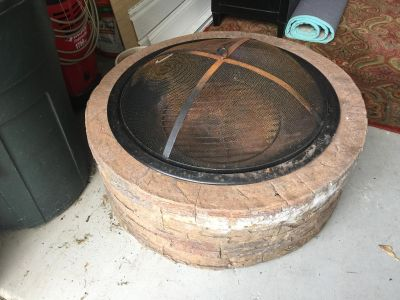 Fire pit from Overstock