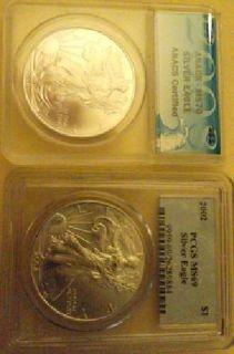 $600 OBO Silver Eagel collectors Coins