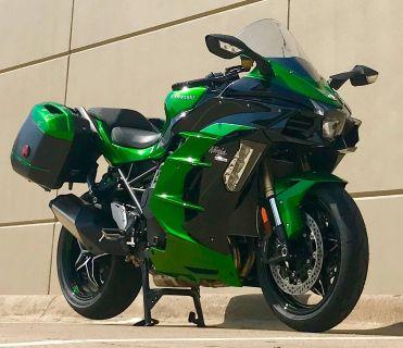 2018 Kawasaki Ninja H2 SX SE SuperSport Motorcycles Plano, TX