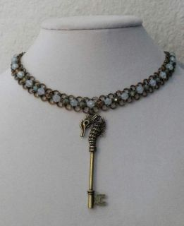 Seahorse Handmade Chainmaille Choker