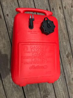 Boat gas tank 6 gallons