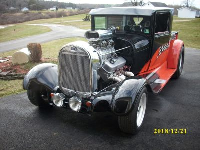 1929 FORD PRO STREET F/S WILL TAKE TRADE AND CASH