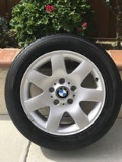 like new bmw tires and rims