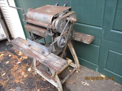 Belsaw Machinery, Early Model Planer For Sale