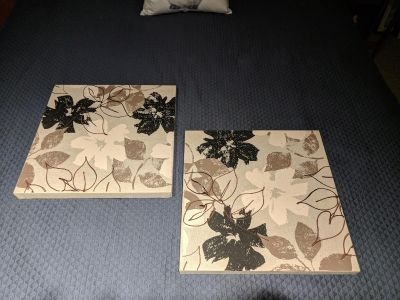 Two Canvas Wall Art