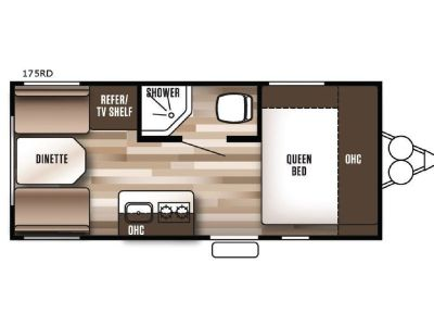 Used 2018 Forest River RV Wildwood X Lite FS 175RD