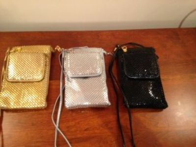 Free with any other purchase - Metal Party Criss Cross Purses