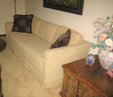 "Sofa - 84"" x 34"" - Made by Schuford Furniture - Hickory, NC"