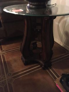 Living room lamp table