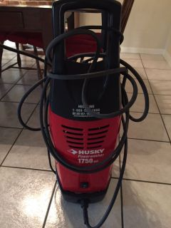 Preowned Husky Power washer 1750 psi