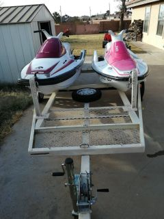 Two Jetskis with Trailer