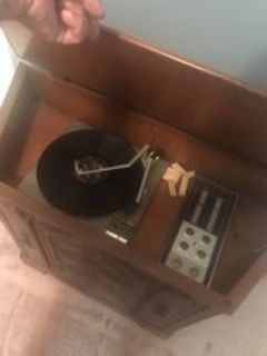 OLD CONSOLE STEREO