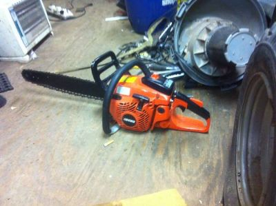 Echo cs-450 20in chainsaw barely been used