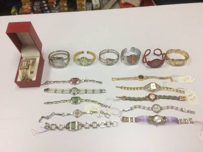 Lot of 40-Womens and Mens Watches