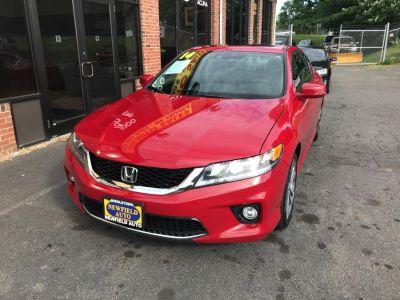 2014 Honda Accord EX-L V6 (San Marino Red)