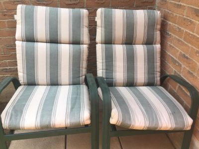 Patio Chairs with Chair Pads
