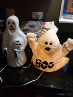 Blow mold ghosts