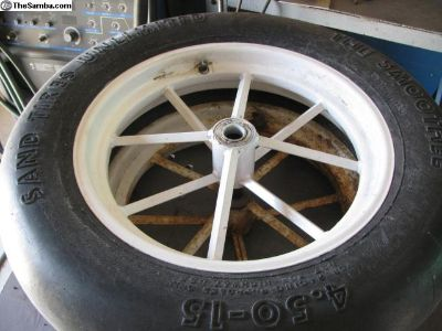 Spindle mount wheels
