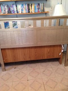 $175, Full Size Bed Headboard and Dresser