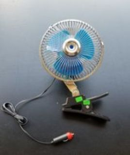 Clip on car fan
