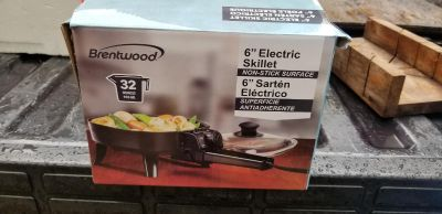 Brentwood 6 inch Electric Skillet
