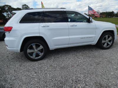 2016 Jeep Grand Cherokee Overland (White)