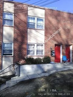Freshly Updated 2-Bedroom 2nd FL Apartment For Rent - 301 E. 3rd Avenue - Available Now!