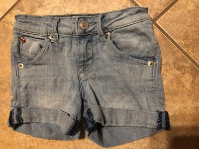 HUDSON Designed Brand Blue Jean Shorts. These Are An Expensive Brand. Google To See! Size 7