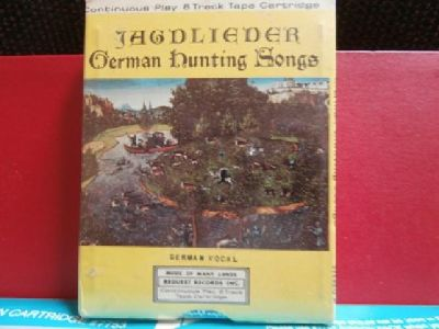 Collector 8 Track Tape of German Hunting Songs