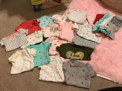 Newborn Lot- 18 onesies and 5 pants