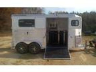 2019 Trailers USA SR - White with Extruded Sides 2 horses