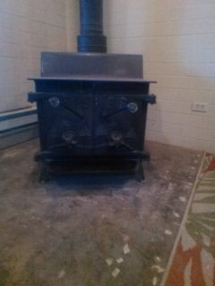 Fisher Wood Burning Stove