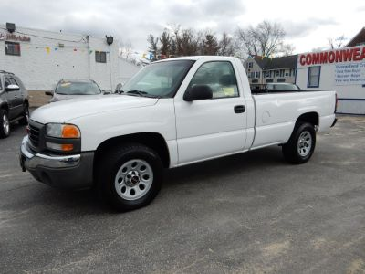 2005 GMC Sierra 1500 Work Truck (Summit White)