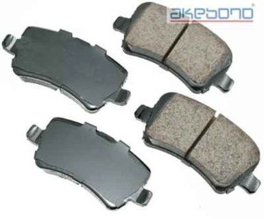 Find Disc Brake Pad-Euro Ultra Premium Ceramic Pads Rear AKEBONO EUR1307 motorcycle in Indianapolis, Indiana, United States, for US $46.66