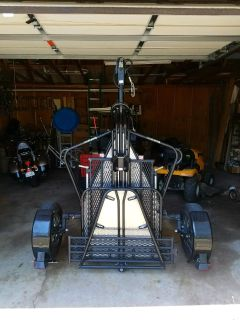 Stand Up Motorcycle trailer