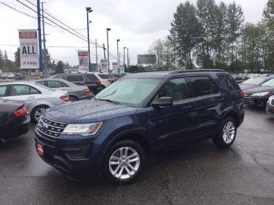 2017 Ford Explorer Base (Blue Jeans Metallic)