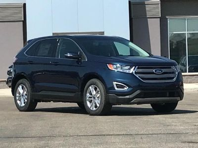 2017 Ford Edge SEL AWD (Blue Jeans Metallic)