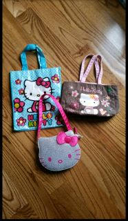 Hello Kitty bag lot. All 3 in great condition