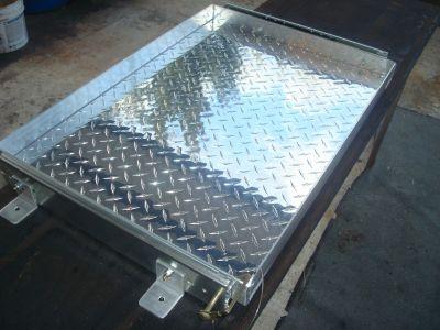 GENERATOR SLIDE TRAY- 500lb Capacity, All Aluminum Tray