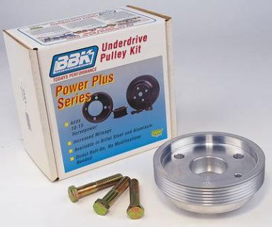 Purchase BBK 1591 Pulley Serpentine Aluminum Polished Chevy Small Block Each motorcycle in Tallmadge, Ohio, US, for US $79.94