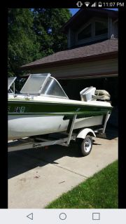 1973 Chrysler Starcraft Boat with trailer